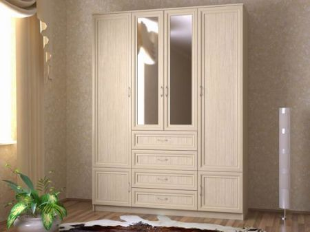 мебель цвет дуб молочный фото